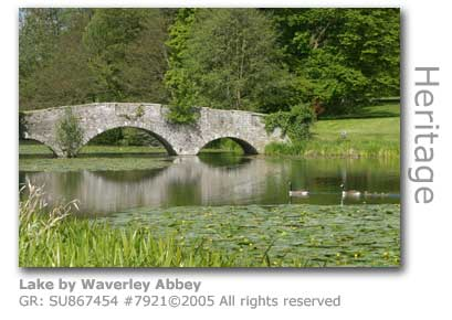 WAVERLEY ABBEY LAKE