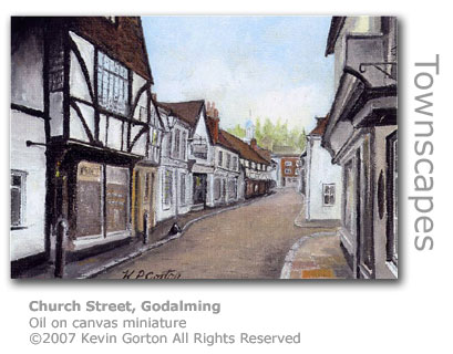 Church Street, Godalming by Kevin Gorton