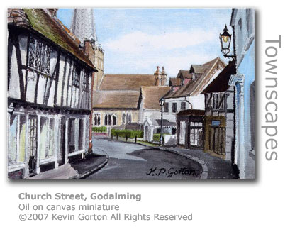 Church Street Godalming by Kevin Gorton