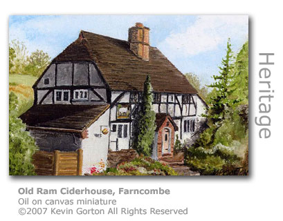 Old Ram Ciderhouse, Farncombe by Kevin Gorton