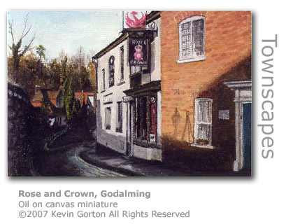 Rose & Crown, Godalming by Kevin Gorton