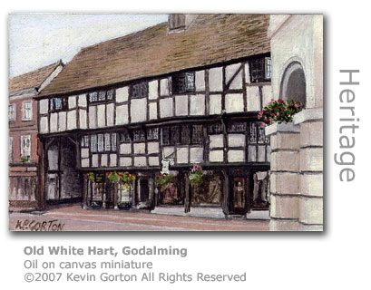 Old White Hart, Godalming by Kevin Gorton