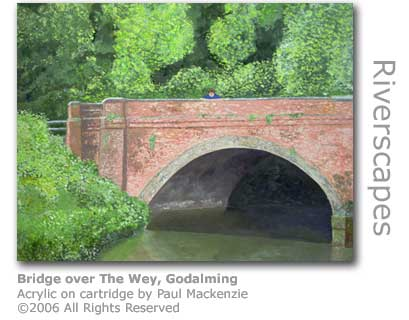 The Bridge over The Wey by Paul Mackenzie