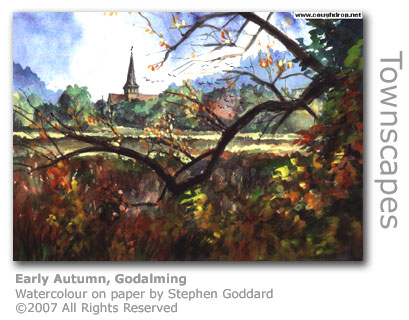 Early Autumn by Stephen Goddard