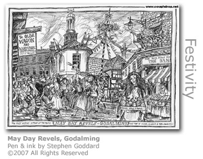 May Day Godalming by Stephen Goddard