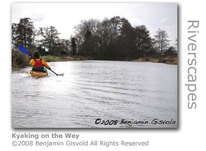 Kyaking on the Wey by Benjamin Gisvold