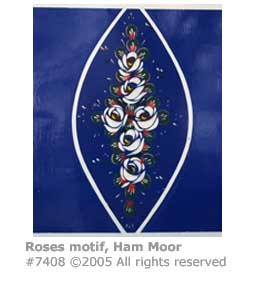 NARROWBOAT ROSES MOTIF 2