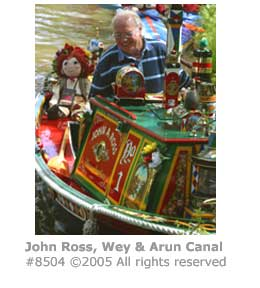JOHN ROSS BOAT DECORATION