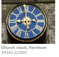 CHURCH CLOCK FARNHAM