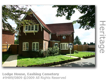 The Lodge at Eashing Cemetery, Godalming, Surrey