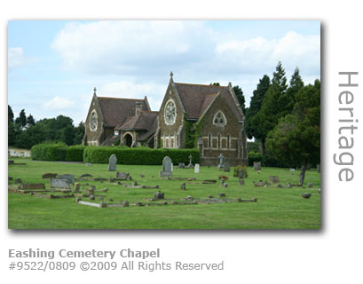 The Chapel at Eashing Cemetery, Godalming, Surrey
