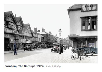 Farnham The Borough 1895