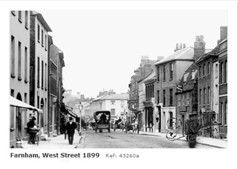 Farnham West Street 1899