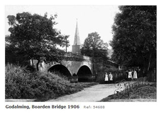 Godalming Boarden Bridge 1906