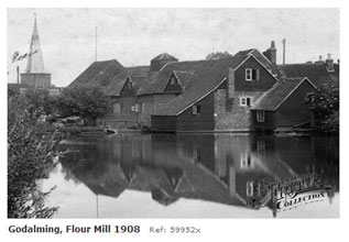 Godalming Flour Mill 1908