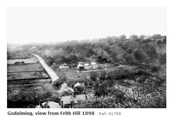 Godalming viewed from Frith Hill 1898