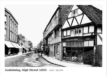 Godalming High Street 1895