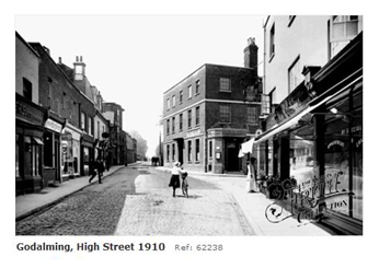 Godalming High Street 1910
