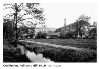 Pullmans Mill Godalming 1910