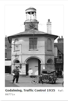 Traffic policeman by Godalming Pepperpot 1930s