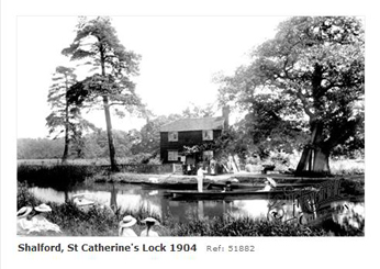 Lock Keeper's cottage at St Catherine's Lock, Godalming Navigation