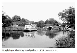 Weybridge wey Navigation
