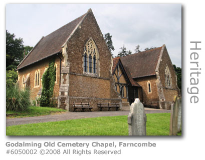 Old Godalming Graveyard Chapel and Mortuary, Farncombe