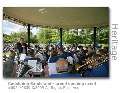 Godalming Bandstand grand opening