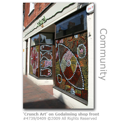 Godalming Crunch Art in High Street