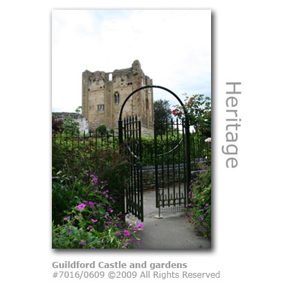 Guildford Castle and gardens, Surrey