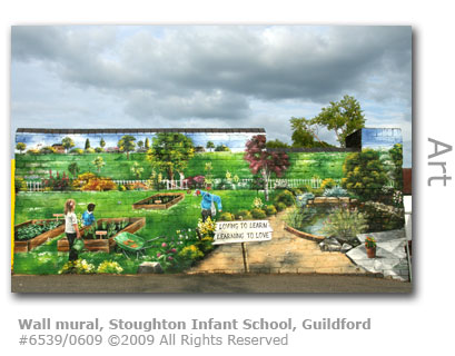 Wall mural by Stoughton Infant School, Guildford
