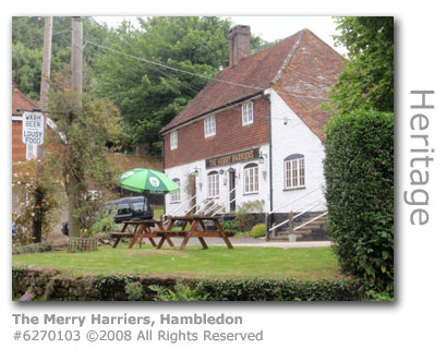 Merry Harriers in Hambledon