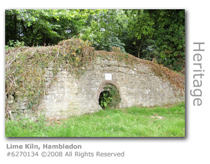 Ancient lime kiln at Hambledon