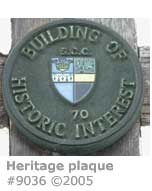 HERITAGE PLAQUE GODALMING