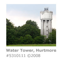 Water tower, Hurtmore, Godalming