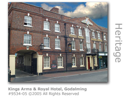 King's Arms and Royal Hotel, Godalming