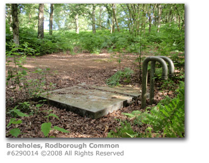 Water boreholes, Rodborough Common, Milford