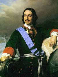 Czar Peter The Great of Russia