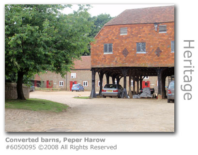 Converted barns, Peper Harow, near Godalming