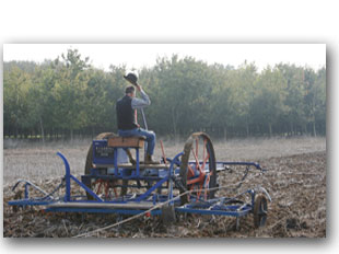 Traction ploughing