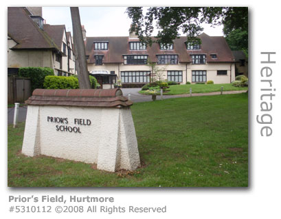 Prior's Field School, Hurtmore