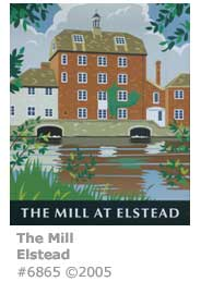 Elstead Mill Inn Sign