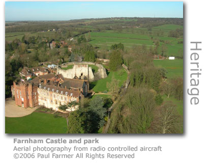 Farnham castle by Paul Farmer