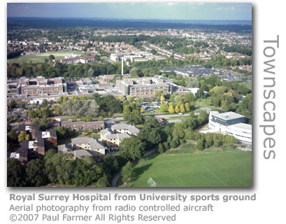 Royal Surrey Hospital by Paul Farmer