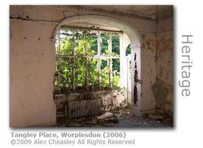 Tangley Place, worplesdon. Picture by Alex Cheasley 2006