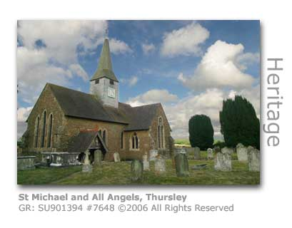 St Michael & All Angels Church, Thursley