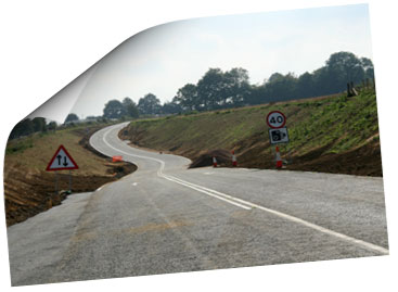 Hindhead Tunnel Construction September 2007
