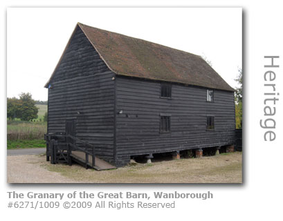 Granary at Wanborough Great Barn near Guildford