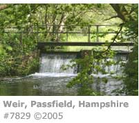 WEIR AT PASSFIELD