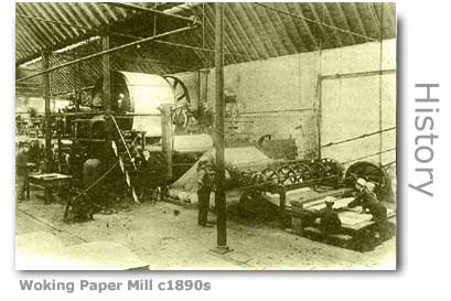 WOKING PAPER MILL